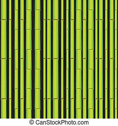 bambus, asiatisch, wald, seamless