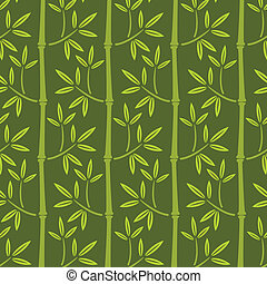 bambus, tapete, seamless
