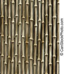 Bambusholz.