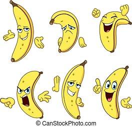 Banana-Cartoon-Set.