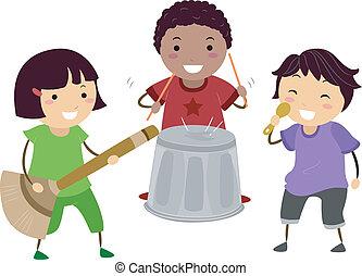 Bandrollen spielen