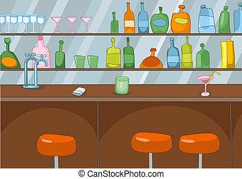 Bar Cartoon