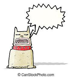 Barking Dog Cartoon.