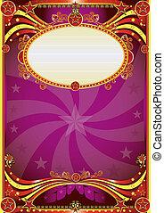 Barock Zirkus Hintergrund