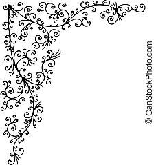 Baroque gefrorene Vignette XL