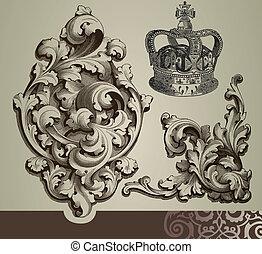 Baroque Ornamente
