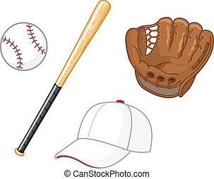 Baseball-Elemente