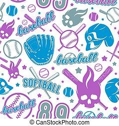 Baseball und Softball sind nahtlos