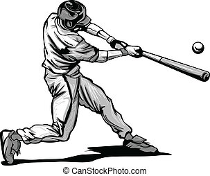 Baseballschläger trifft Pitcher