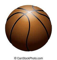 basketball ball, realistisch