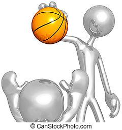 Basketball mit dem Möchtegern