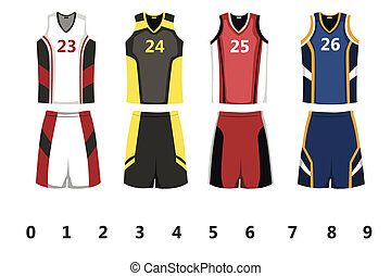Basketball-Trikot