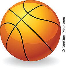 Basketballball-Illustration