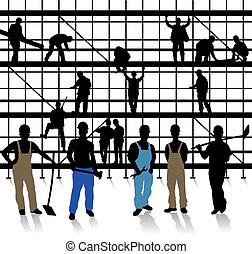 Bau- und Handwerker