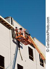Bauarbeiter bldg