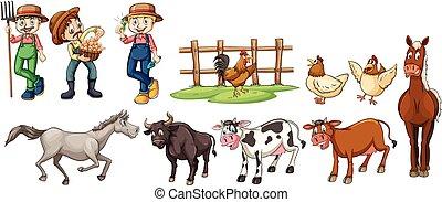 Bauern und Bauern.