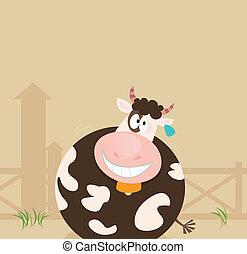 Bauerntiere: Kuh
