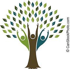 Baum der Freiheit. Vector Grafikdesign