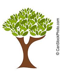 Baum-Illustration
