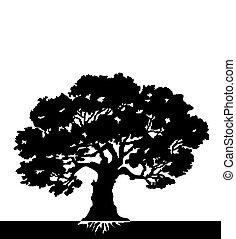 Baum. Vector