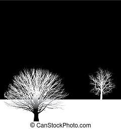 Baumhintergrund