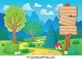 Baumlandschaft 2