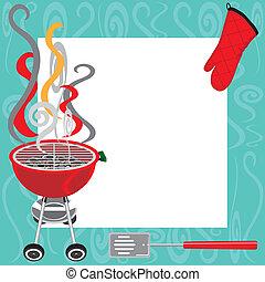 BBQ Party-Einladung