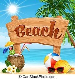 Beach Banner.