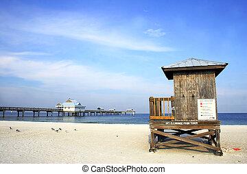 Beach Szene.