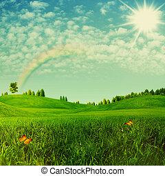 Beauty Umwelt Hintergrund für Ihr Design.