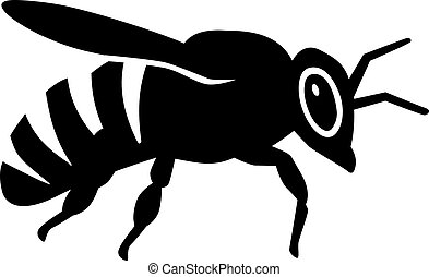 Bee Sideview.