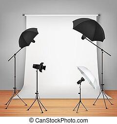 begriff, design, fotostudio
