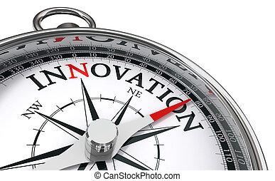 begriff, innovation, kompaß