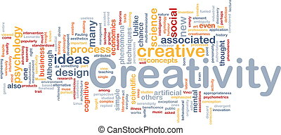 begriff, kreativität, hintergrund, kreativ