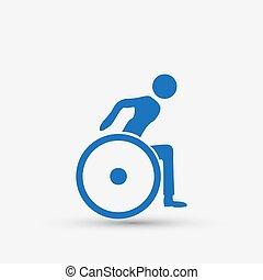 Behinderten-Handicap-Icon.