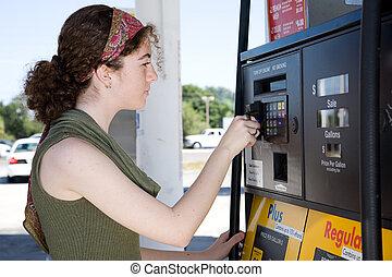 Benzin kaufen