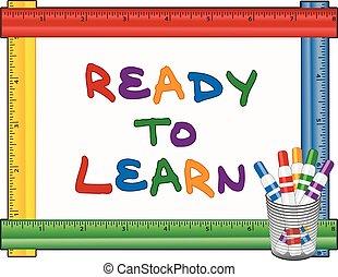 Bereit, Whiteboard zu lernen, Stifte