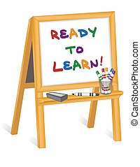 Bereit zu lernen, Kinder zu beruhigen