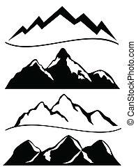 berge, verschieden