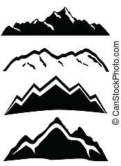 Berggipfel Landschaft.