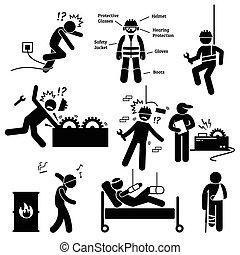Berufliche Sicherheit und Gesundheitsarbeit