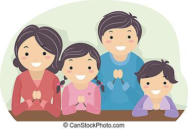 beten, familie