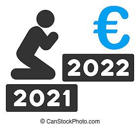 beten, wohnung, mann, raster, 2022, ikone, euro