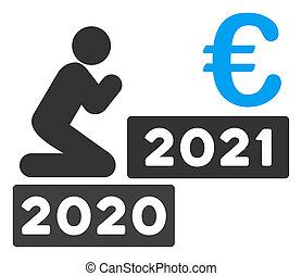 beten, wohnung, mann, raster, ikone, 2021, euro