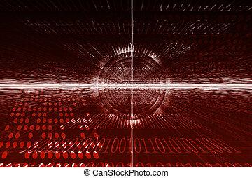 Betriebssystem abstrakter Hintergrund