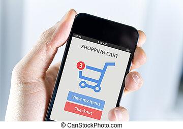 beweglich, shoppen