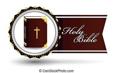 Bibel-Ikonendesign.