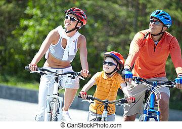 bicycles, reiten