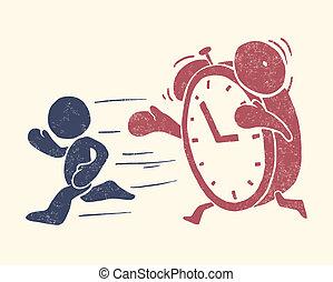 Bildliche Darstellung der Zeit