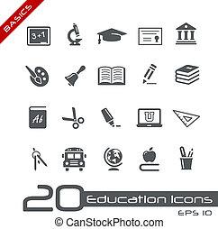 Bildungs-Ikonen / Basis